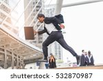motion blur of businessman ...   Shutterstock . vector #532870987