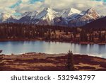Mountain Landscape In Colorado...