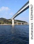 Small photo of Bridge across ocean