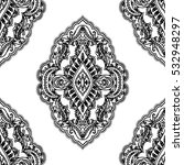 india seamless paisley pattern  ... | Shutterstock .eps vector #532948297