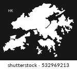 hongkong map black and white...   Shutterstock .eps vector #532969213