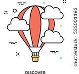 discover vector icon | Shutterstock .eps vector #533001163