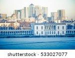 Panoramic View Of Canary Wharf...