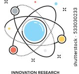 innovation research vector icon | Shutterstock .eps vector #533030233