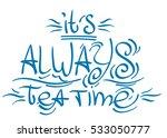 lettering phrase from the fairy ... | Shutterstock .eps vector #533050777