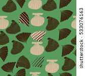 seamless sea pattern  halftone .... | Shutterstock . vector #533076163