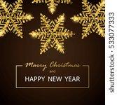 vector greeting illustration... | Shutterstock .eps vector #533077333