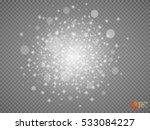 white glowing light burst... | Shutterstock .eps vector #533084227