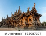 Sanctuary Of Truth At Pattaya...