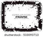 vector grunge frame.grunge...   Shutterstock .eps vector #533093713