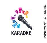 karaoke logo vector | Shutterstock .eps vector #533109403