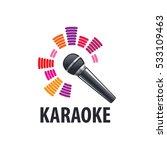 karaoke logo vector | Shutterstock .eps vector #533109463