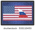 russia spying on america.... | Shutterstock . vector #533110453