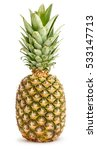 pineapple isolated | Shutterstock . vector #533147713