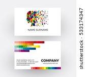 vector abstract digital concept ... | Shutterstock .eps vector #533174347