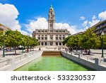 porto city hall on liberdade...   Shutterstock . vector #533230537