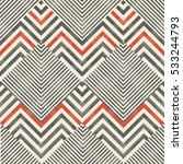 abstract striped geometric... | Shutterstock .eps vector #533244793