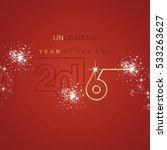 the end 2016 unloading spark... | Shutterstock .eps vector #533263627