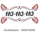 christmas greeting card on... | Shutterstock .eps vector #533276503