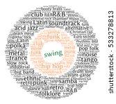 swing. word cloud  circles ... | Shutterstock .eps vector #533278813