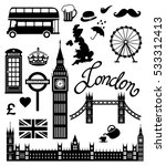 london icon set collection | Shutterstock . vector #533312413
