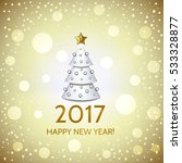 new year background with... | Shutterstock .eps vector #533328877