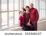 happy family portrait  | Shutterstock . vector #533368147