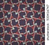 dust purple fancy seamless... | Shutterstock .eps vector #533416747