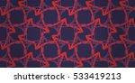 bright violet ornamental... | Shutterstock .eps vector #533419213