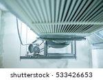 ventilating fan motor of air... | Shutterstock . vector #533426653