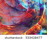 abstract fractal background | Shutterstock . vector #533428477