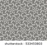 geometric shape abstract vector ... | Shutterstock .eps vector #533453803