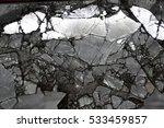 broken mirror | Shutterstock . vector #533459857