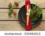 Christmas Table Setting On...