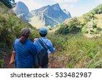 traveller trekking on doi luang ... | Shutterstock . vector #533482987