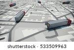 gps tracking. 3d rendering   Shutterstock . vector #533509963