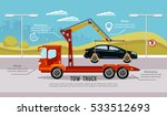 car service infographic  auto... | Shutterstock .eps vector #533512693