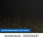 shimmering glow glittering... | Shutterstock .eps vector #533526337