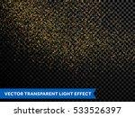 shimmering magic glow of... | Shutterstock .eps vector #533526397