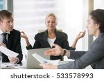 business negotiation  male... | Shutterstock . vector #533578993