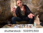 drug dealer asking for money...   Shutterstock . vector #533591503