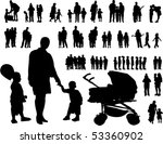 vector illustration of children | Shutterstock .eps vector #53360902