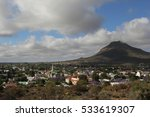 view over the historic town of... | Shutterstock . vector #533619307