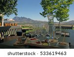 wine tasting with meat pairing... | Shutterstock . vector #533619463