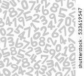 numbers background. seamless... | Shutterstock .eps vector #533619547