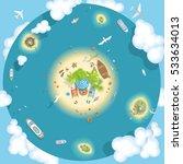 vector illustration. the... | Shutterstock .eps vector #533634013