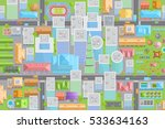 vector illustration. city view... | Shutterstock .eps vector #533634163