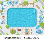 vector illustration. sunny... | Shutterstock .eps vector #533639077