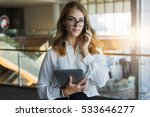 front view. young business... | Shutterstock . vector #533646277