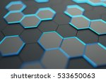 abstract 3d rendering of... | Shutterstock . vector #533650063